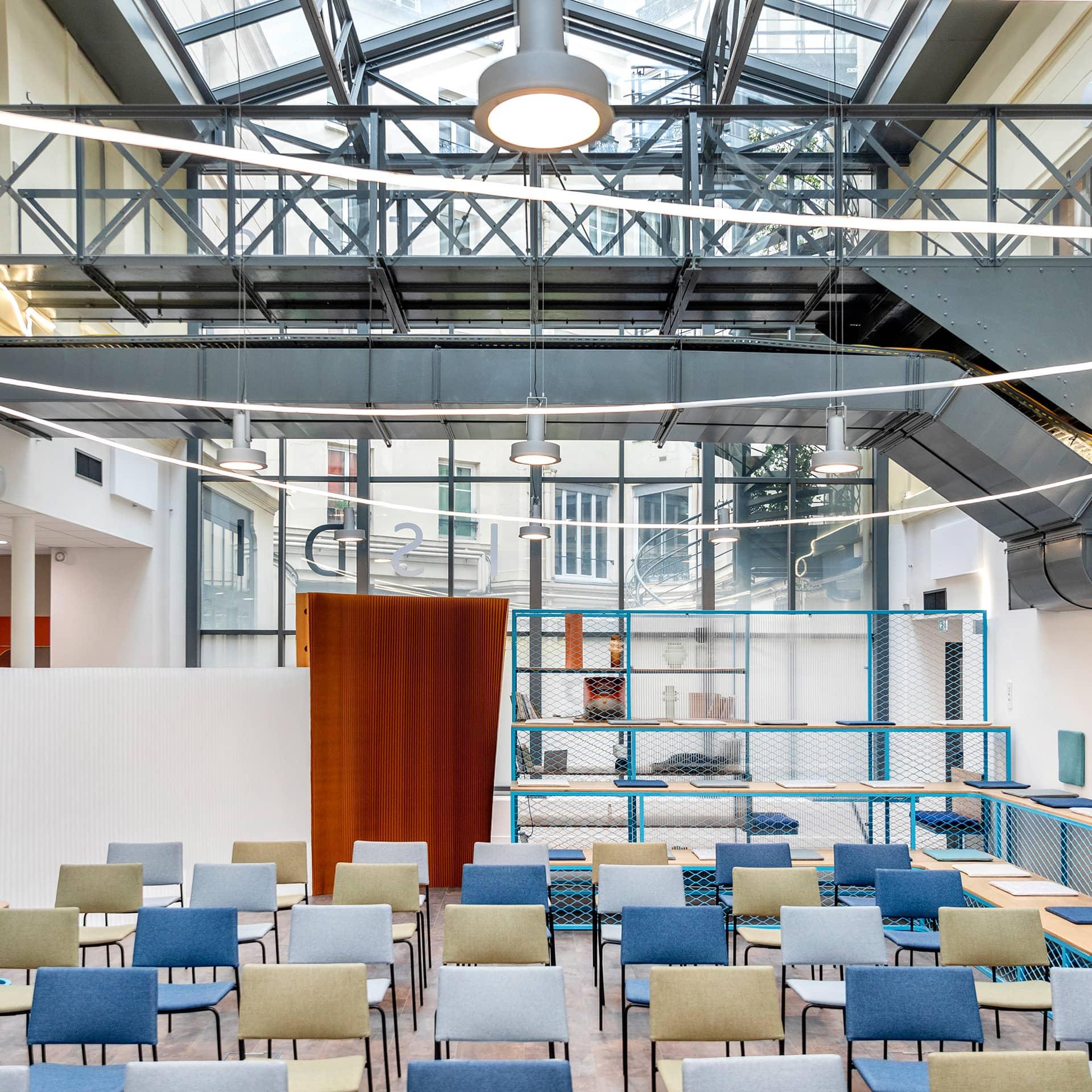 Centre d'Accélération Digitale est situé en plein cœur de Paris