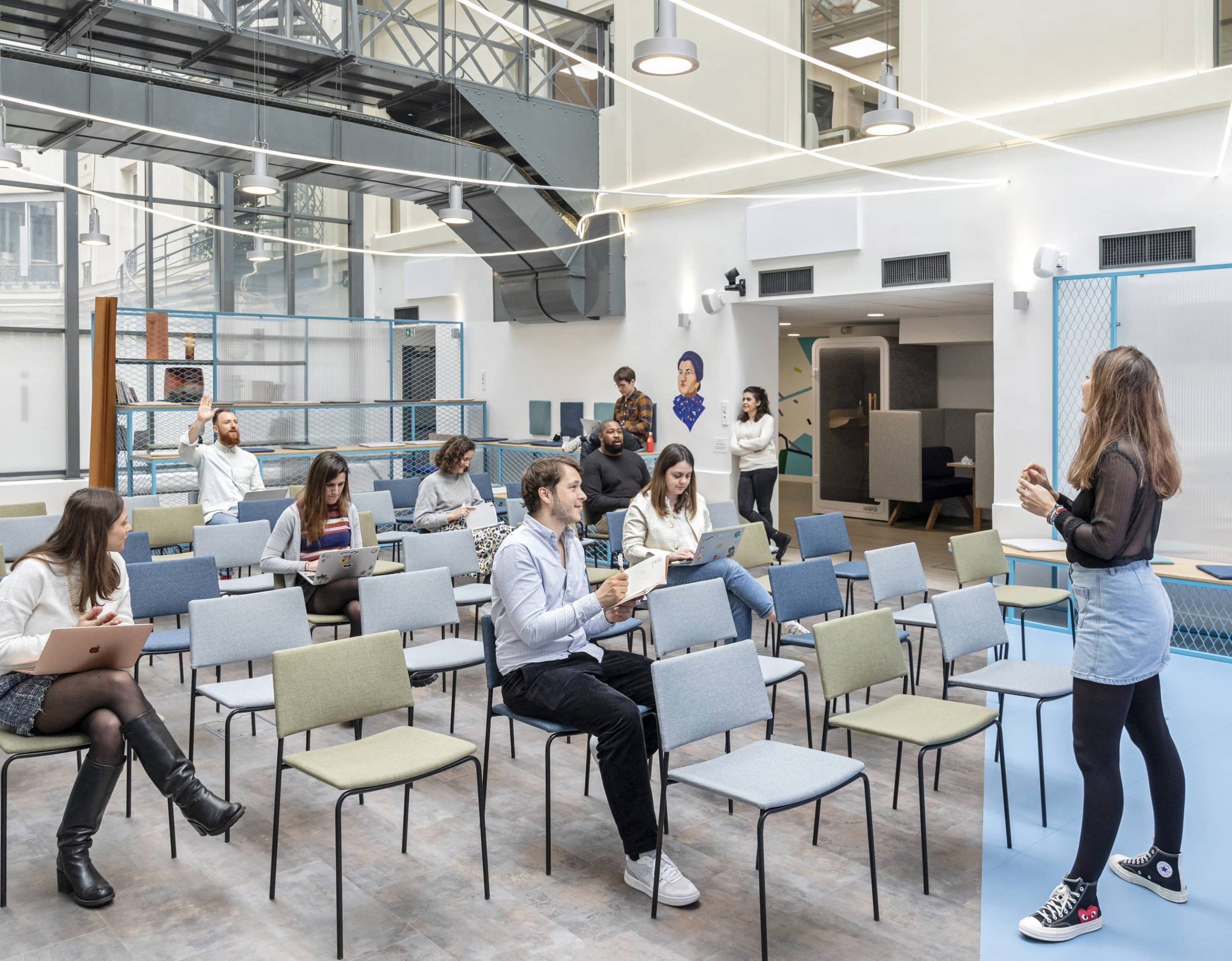 Centre d'Accélération Digitale à Paris - Découvrez nos valeurs et notre équipe