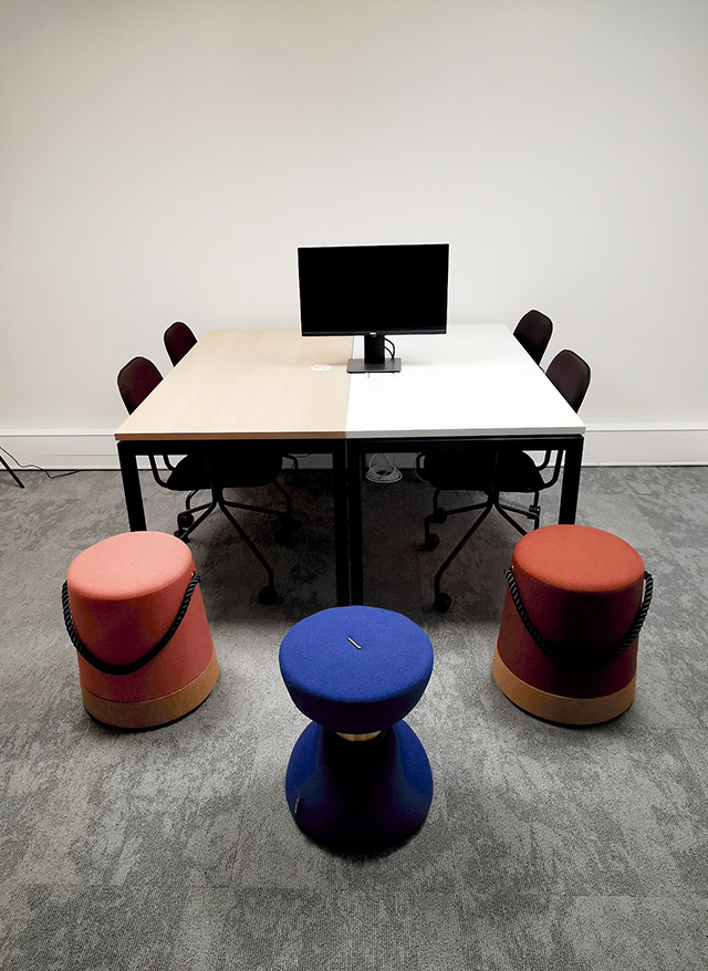 CAD Paris - Centre Acceleration Digitale - Salle Rosa Parks