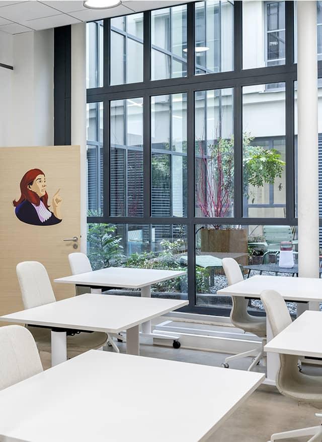 CAD Paris - Centre Acceleration Digitale - Salle Gisele